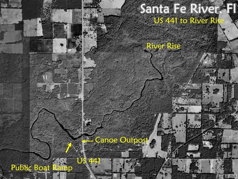 Santa Fe River Maps